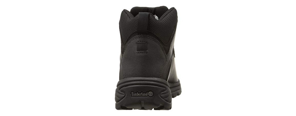 Timberland Men's 6 Inch Boots Black With White Logo Best