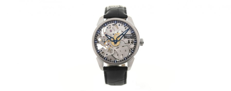 Tissor Men's T-Complication Swiss Mechanical Stainless Steel Watch