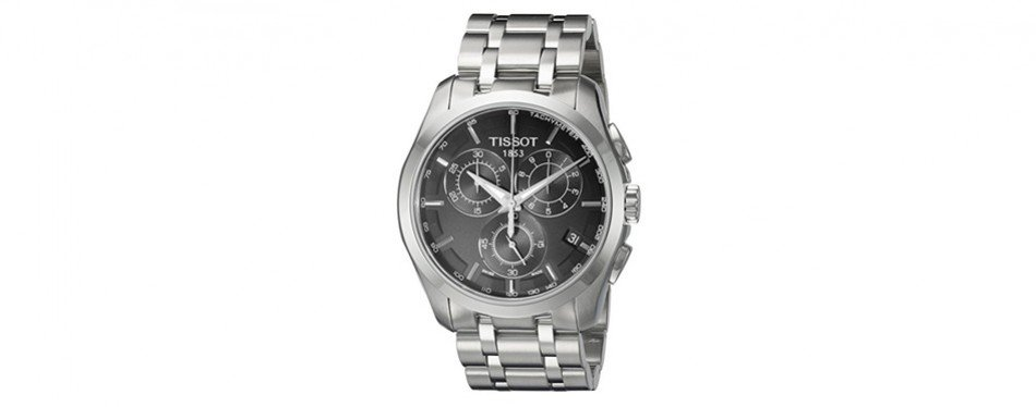 Tissot Men's Quartz Stainless Steel Link Bracelet