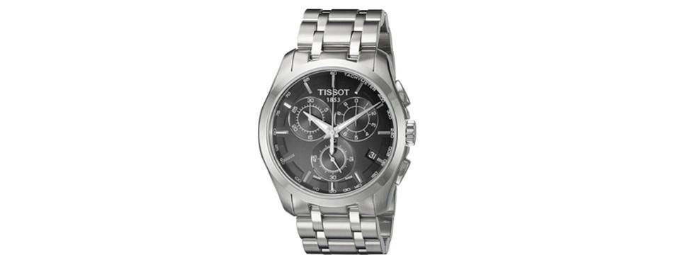 Tissot Men's Quartz Stainless Steel Link Bracelet