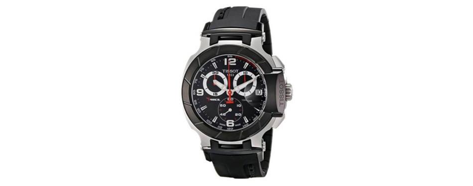 Tissot Men's T-Race Black Chronograph