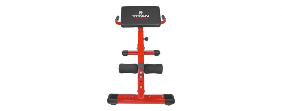 Titan Fitness Exercise Bench Ab Machine