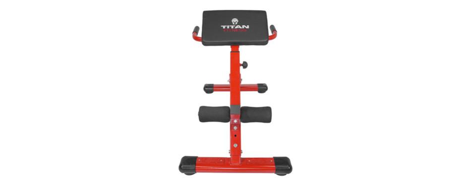 Titan Fitness Exercise Bench Ab Machine