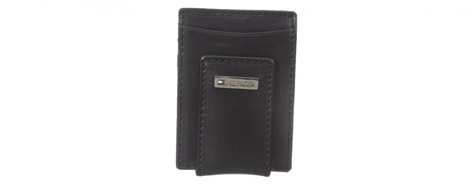 Tommy Hilfiger Men's Leather Front Pocket Wallet