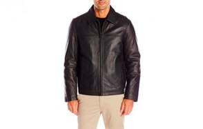Tommy Hilfiger Men's Leather Jacket