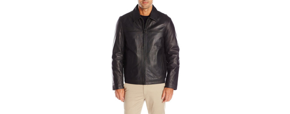 Tommy Hilfiger Men's Leather Jacket