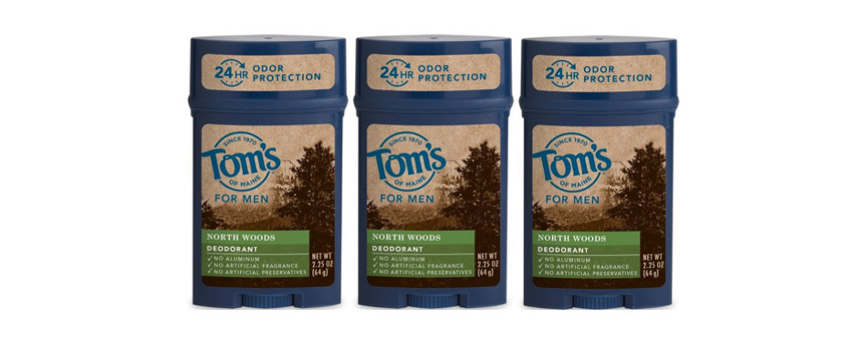 Tom's of Maine 24-Hour Men's Long Lasting Natural Deodorant