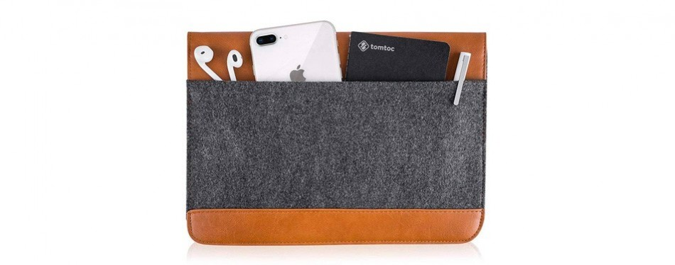 Tomtoc Ultra Slim Protective Sleeve for Macbook Pro 13""
