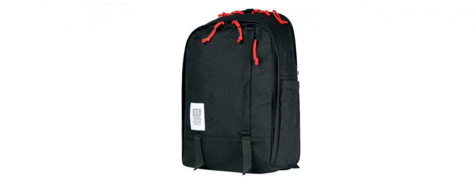 Topo Designs Core Pack in Black American Made Backpack