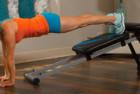 Total Gym Fitness Dynamic Trainer Blast Workout Ab Machine
