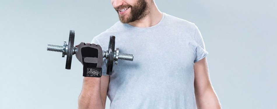 Trideer Full-Palm Workout Gloves