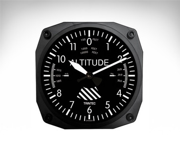 Trintec Altimeter Wall Clock