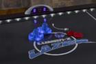 triumph lumen-x lazer interactive air hockey table