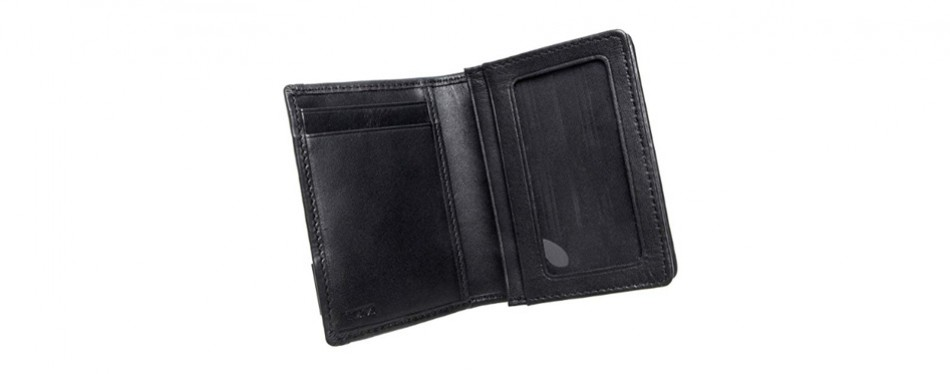 Tumi Men's Alpha Gusseted Card Case with ID display