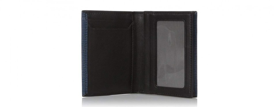 Tumi Men's Monaco Gusseted Card Case Wallet with Id