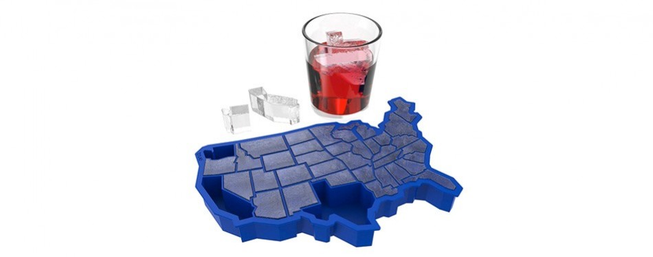 U Ice of A Silicone Mold and Ice Cube Tray
