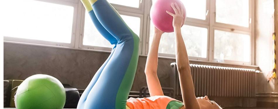 URBNFit Mini Pilates Style Stability Ball
