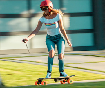 unlimited x loaded solo electric skateboard kit