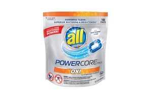 all powercore pacs laundry detergent with oxi
