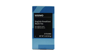 amazon brand solimo english breakfast tea bags