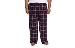 amazon essentials men's big & tall flannel pajama pant