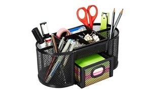-amazonbasics dsn 02950 mesh desk organizer