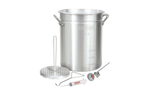 bayou classic 3025 30 quart aluminum turkey fryer