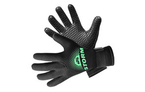 bps 3mm & 5mm double lined neoprene wetsuit gloves