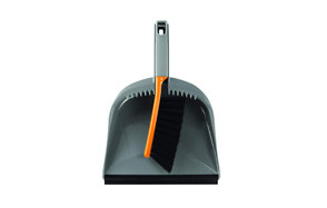 casabella 1 count dustpan and brush set