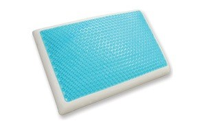 classic brands cool gel and memory foam bed pillow