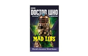 doctor who villains and monsters mad libs by rob valais