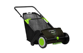 earthwise lsw70021 21 inch yard sweeper