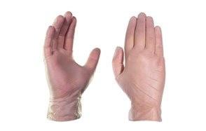 gpx3 industrial clear vinyl gloves