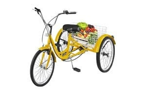 happybuy 24 inch adult tricycle series 7