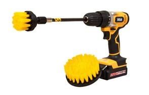 holikme 4 pack drill brush power scrubber