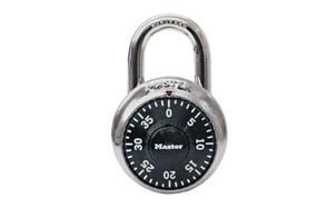 master lock 1500t dial combination padlock