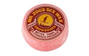 sex wax mr. zogs private formula snowboard wax