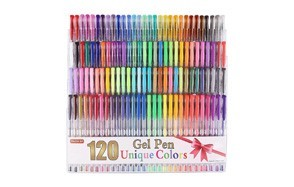 shuttle art 120 color gel pen set