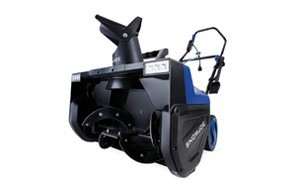 snow joe sj627e electric snow thrower with dual led lights