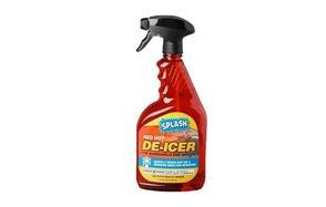 splash windshield trigger sprayde icer