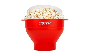 the original hotpop microwave popcorn popper