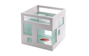 -umbra fishhotel mini aquarium