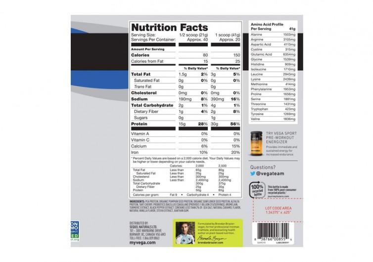 Vega Sport Protein Powder