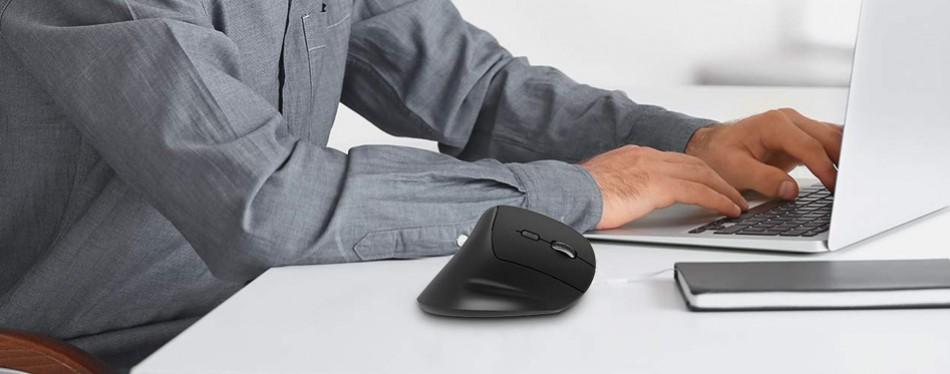 VicTsing 2.4G Vertical Ergonomic Mouse