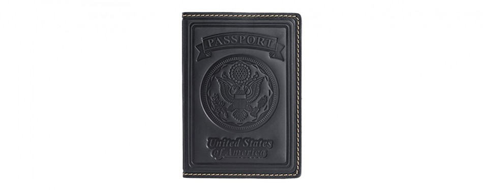 Villini Leather Passport Holder