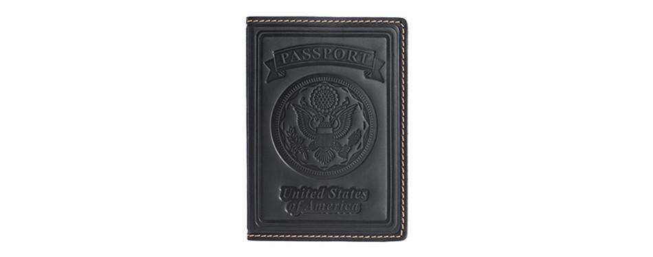 Villini Leather Passport Holder