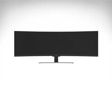 "Viotek SUW49C 49"" Super Ultrawide Curved HDR Gaming Monitor"