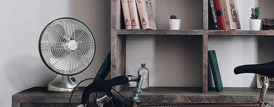 Vornado Silver Swan Table Fan