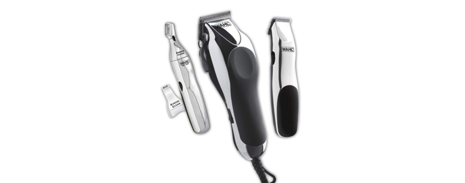Wahl Clipper Home Barber Clipper Kit with hair clipper