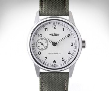 Weiss 38MM Automatic Issue Field Watch